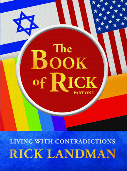 book cover -Book of Rick, by Rick Landman