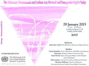 United Nations Briefing on Holocaust and LGBT Rights